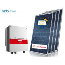 GERADOR DE ENERGIA CANADIAN FIBROCIMENTO ALDO SOLAR GEF-2680CC 2,68KWP MONO 220V CANADIAN