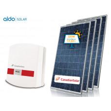 GERADOR DE ENERGIA CANADIAN COLONIAL ALDO SOLAR GEF-33500CC 33,5KWP TRIF 220V CANADIAN