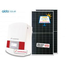GERADOR DE ENERGIA CANADIAN COLONIAL ALDO SOLAR GEF-31350CC 31,35KWP TRIF 380V BYD HALF CELL