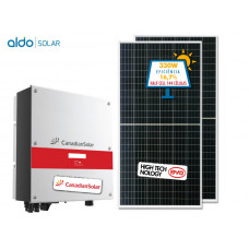 GERADOR DE ENERGIA CANADIAN COLONIAL ALDO SOLAR GEF-2640CC 2,64KWP CANADIAN MONO 220V BYD HALF CELL