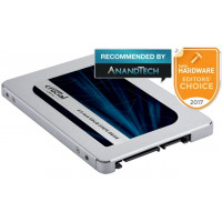 SSD CRUCIAL 500GB SATA 3 MX500 6Gb/s CT500MX500SSD1 LEITURA 560MB/S GRAVAÇÃO 510MB/S
