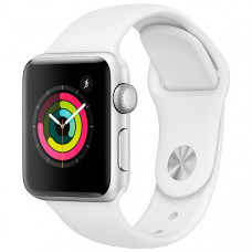 APPLE WATCH SERIES 3 38MM MTEY2LL/A A1858 - SILVER / WHITE