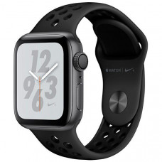 APPLE WATCH NIKE+ SERIES 4 40MM MU6J2LL/A A1977 - SPACE GRAY / ANTHRACITE/BLACK