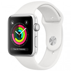 APPLE WATCH SERIES 3 42MM MTF22CL/A A1859 - SILVER / WHITE