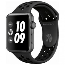 APPLE WATCH NIKE+ SERIES 3 42MM MTF42LL/A A1859 - SPACE GRAY / ANTHRACITE/BLACK