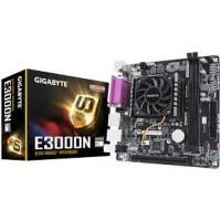 PLACA MÃE COM PROCESSADOR GIGABYTE E3000N ITX AMD E2-3000 1.65GHZ VGA/HDMI/RS232/PARALELO/LAN