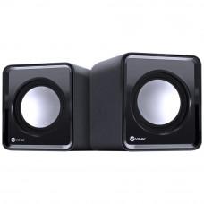 CAIXA DE SOM VINIK 2.0 USB 5V 2X 1W VS-01 COM CONTROLADOR DE VOLUME