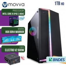 COMPUTADOR GAMER MVX5 I5 8400 2.8GHZ 8ª GER. MEM. 8GB HD 1TB HDMI/VGA FONTE 600W - LINUX