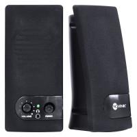 CAIXA DE SOM VINIK 2.0 USB 6W RMS ONE PRETA VS-202